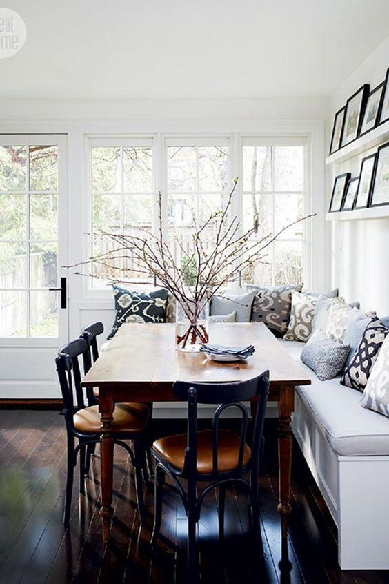 Dining Room Bench Ideas 22