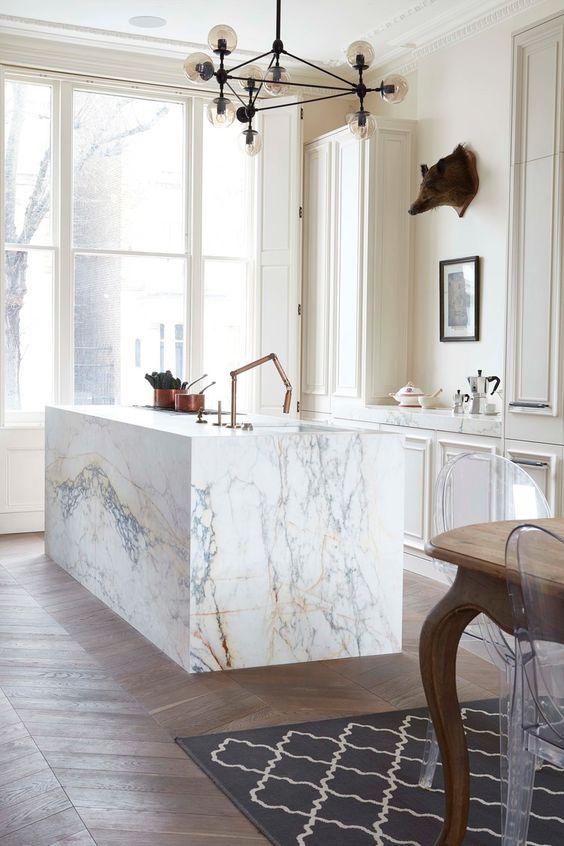 Kitchen Marble Ideas 14