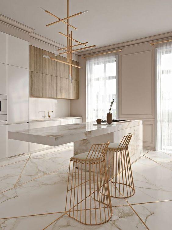 Kitchen Marble Ideas 17