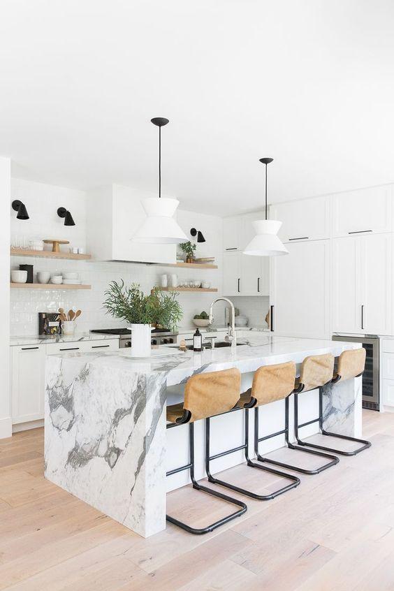 Kitchen Marble Ideas 18