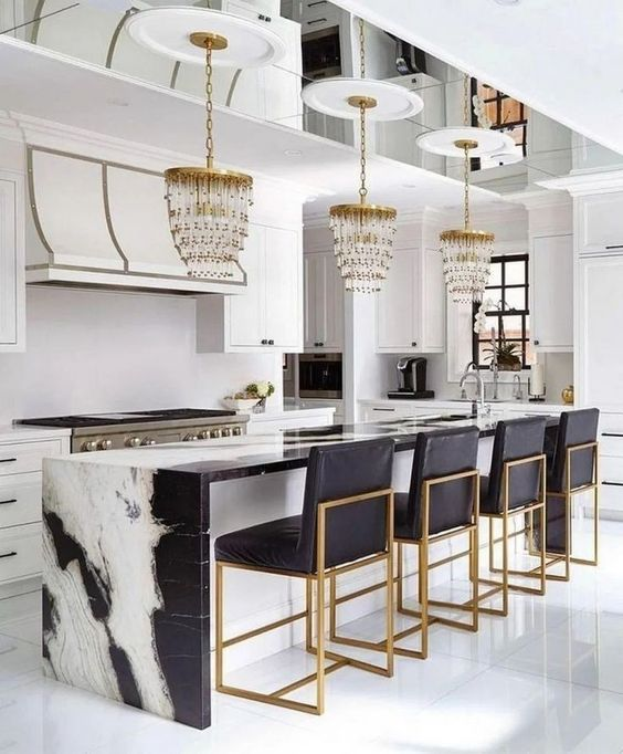 Kitchen Marble Ideas: Jaw-Dropping Modern Look