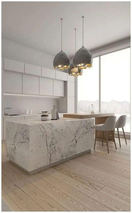 Kitchen Marble Ideas 8