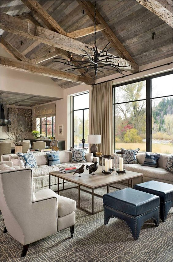 Rustic Living Room Ideas: Eye-Catching Fixer Upper