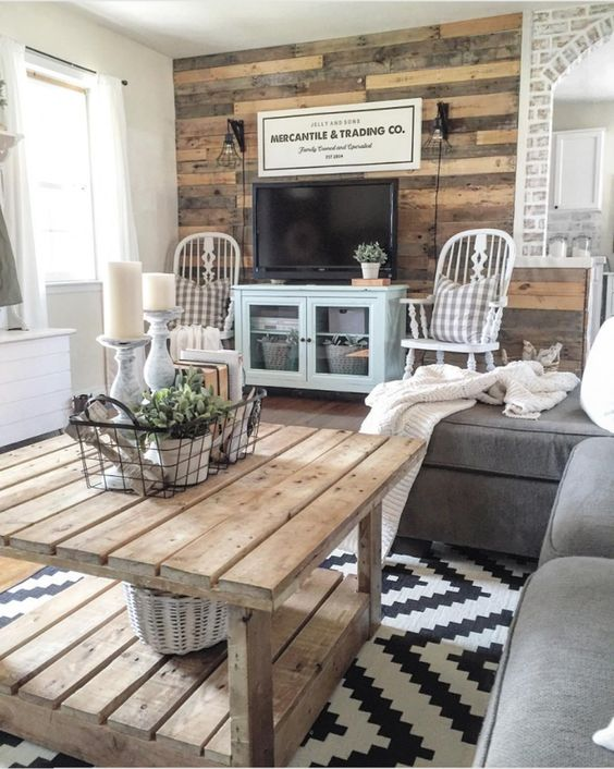 rustic living room ideas 10