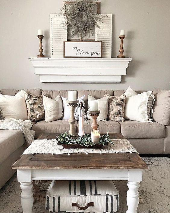 rustic living room ideas 11