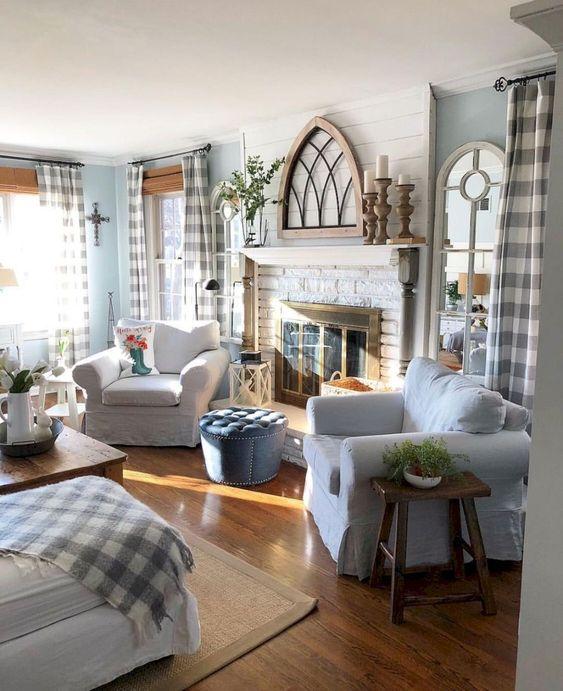 rustic living room ideas 12