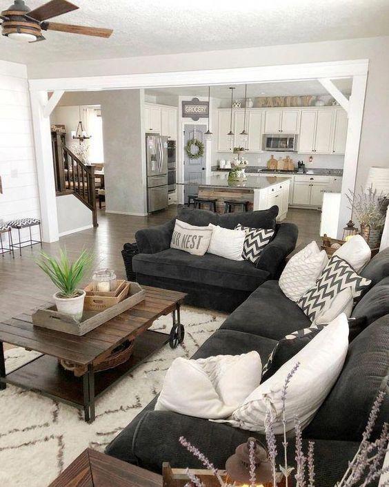 rustic living room ideas 16