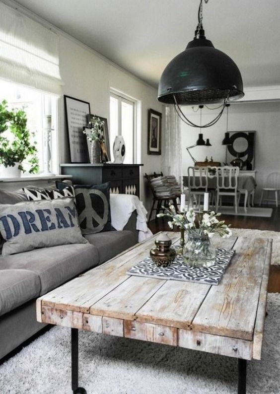 rustic living room ideas 18