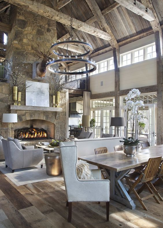 Rustic Living Room Ideas: Modern Rustic Room