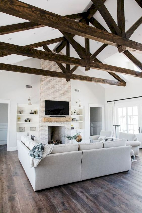 Rustic Living Room Ideas: Lovely Cool Rustic