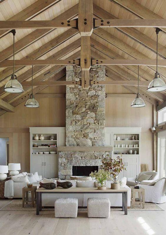 rustic living room ideas 4