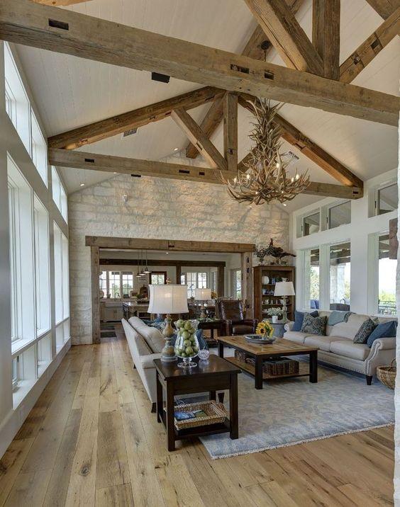 rustic living room ideas 7