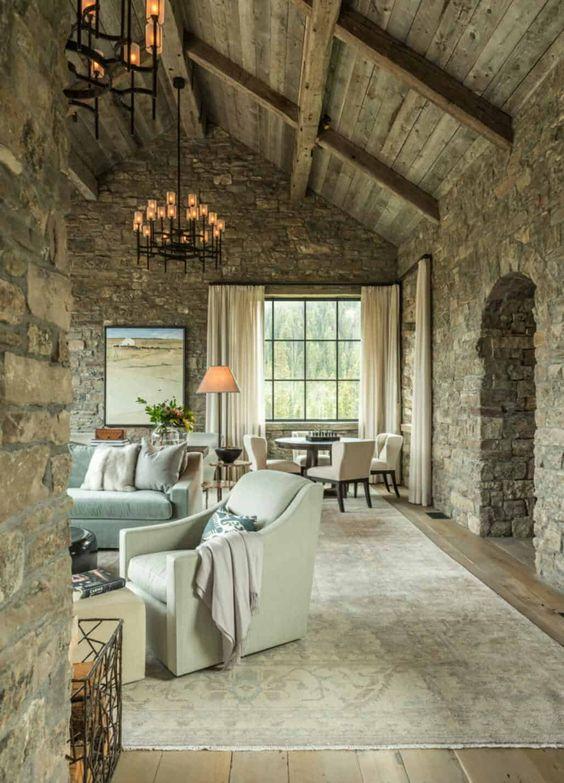 rustic living room ideas 8