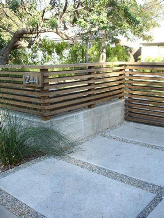 Front Yard Fence Ideas 20
