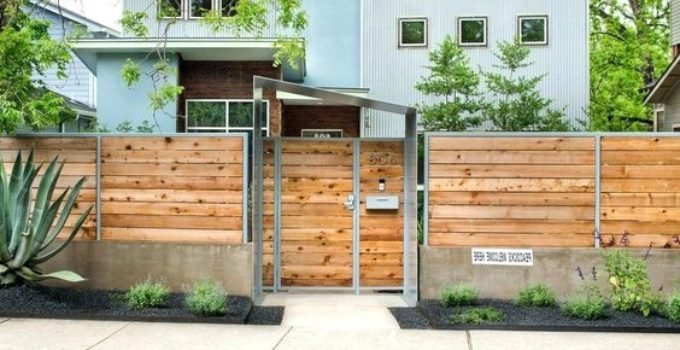 Front Fence Ideas 21 Inspirations To Make Attractive Outdoor Look