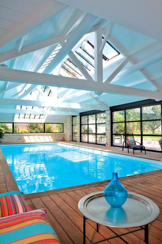 Indoor Swimming Pool Ideas 13