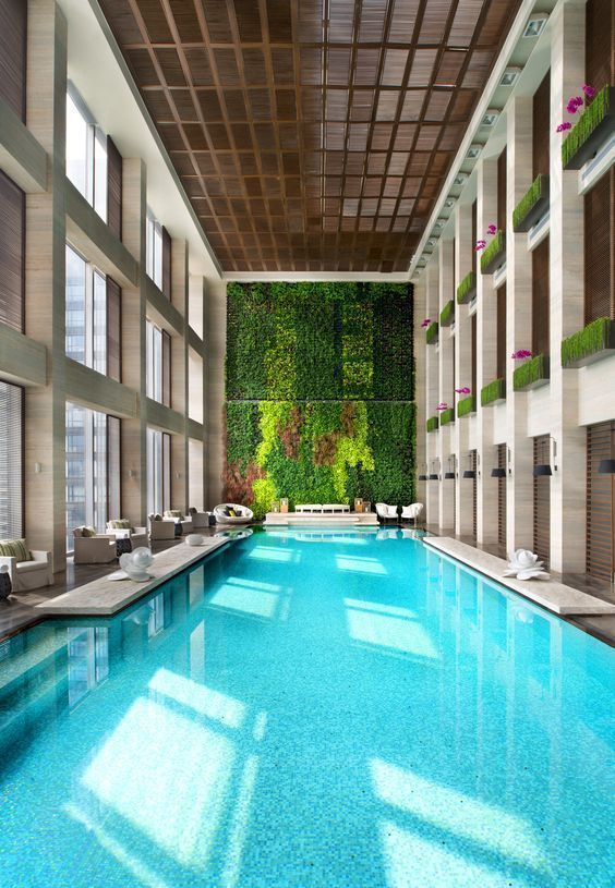 Indoor Swimming Pool Ideas 19