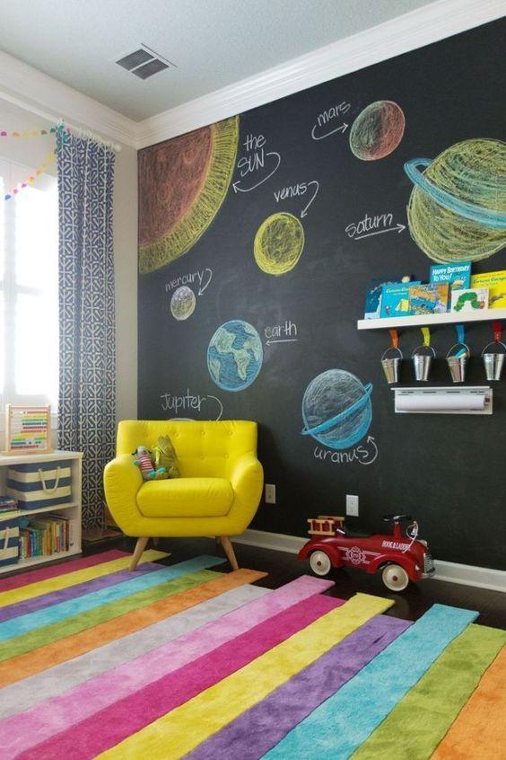 Kids Bedroom Ideas: Decorative and Educative