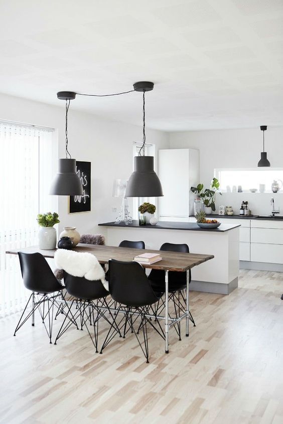 Dining Room Lighting Ideas: Stunning Minimalist Concept
