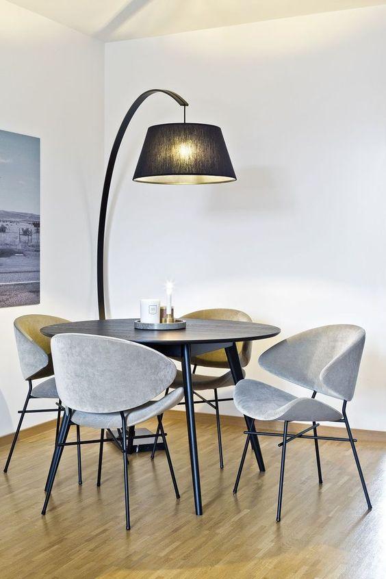Dining Room Lighting Ideas: Decorative Standing Lamp