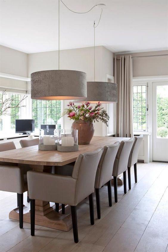 Dining Room Lighting Ideas 23