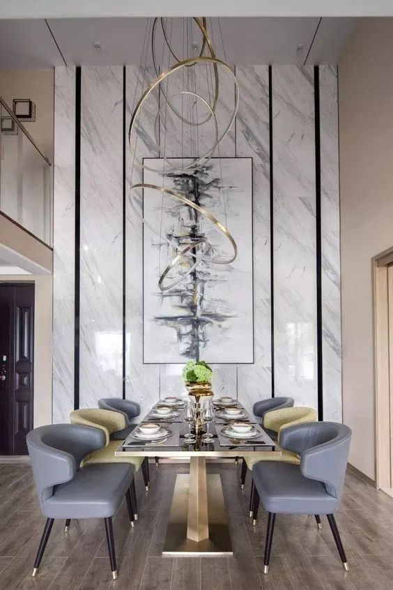 Dining Room Lighting Ideas: Breathtaking Modern Chandelier