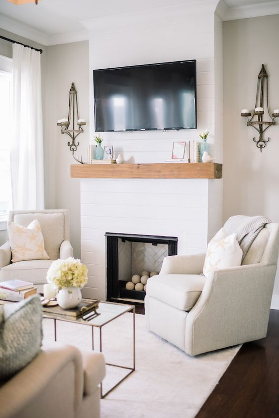 Living Room with TV Ideas 19