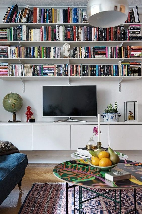 Living Room with TV Ideas: Decorative TV Area