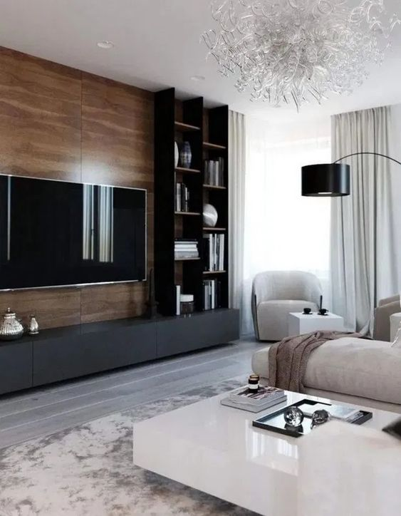 Living Room with TV Ideas 22