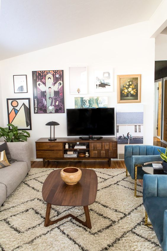 Living Room with TV Ideas 24