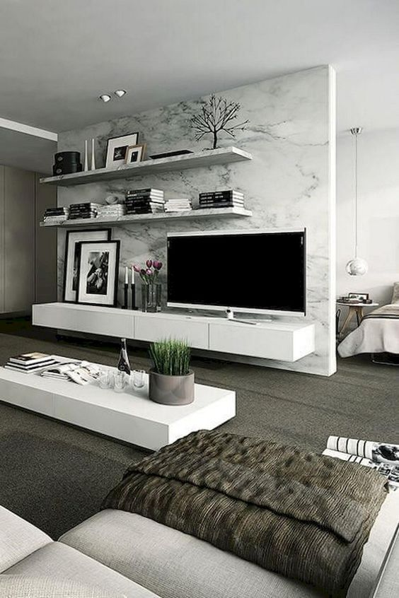 Living Room with TV Ideas 25