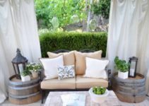 How to Enclose a Patio with Drop Cloth | 5 Steps DIY Project