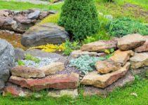 How to Make a Rockery Garden feature