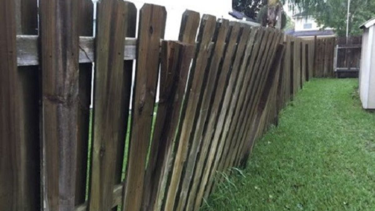 How to Fix Leaning Fence Easily and Cheaply with 10 Quick Steps