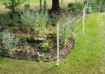 how to install electric fence in the garden feature