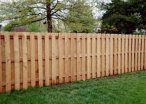 how to install wood fence panels