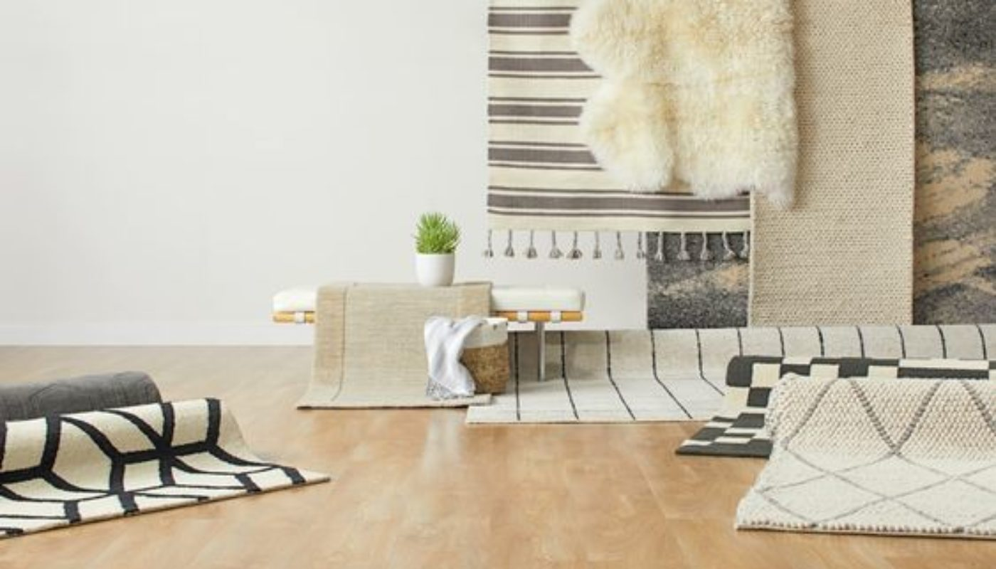 How to Place a Rug In a Living Room 5