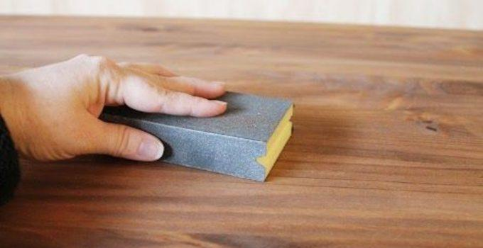 How to Repair Peeling Stain On Wood Stained Kitchen Cabinets