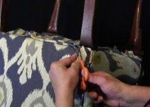 How to Reupholster a Dining Room Chair Seat and Back