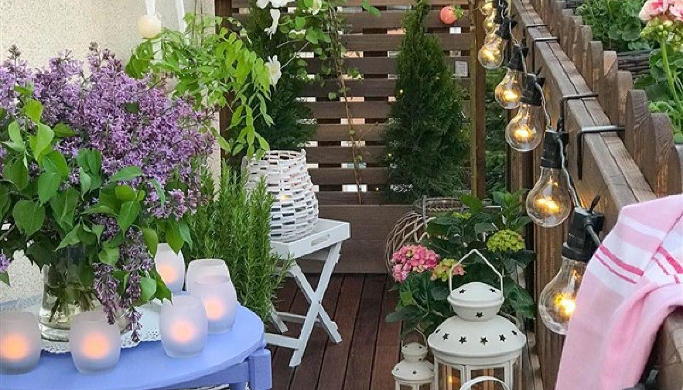 Small Apartment Balcony Design Tips