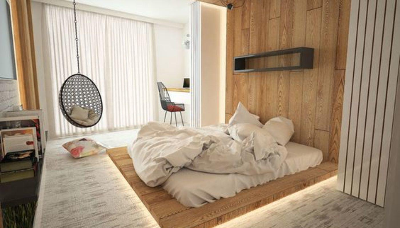How to Arrange a Small Bedroom with a Queen Bed 2