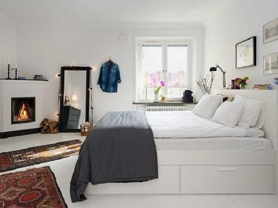 How to Decorate Scandinavian Bedroom 1