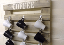 How to Make A DIY Hanging Mugs Holder | Easy and Cheap DIY Project