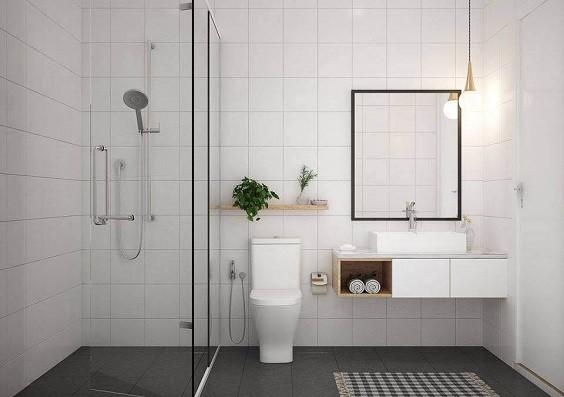 how to decorate small bathroom