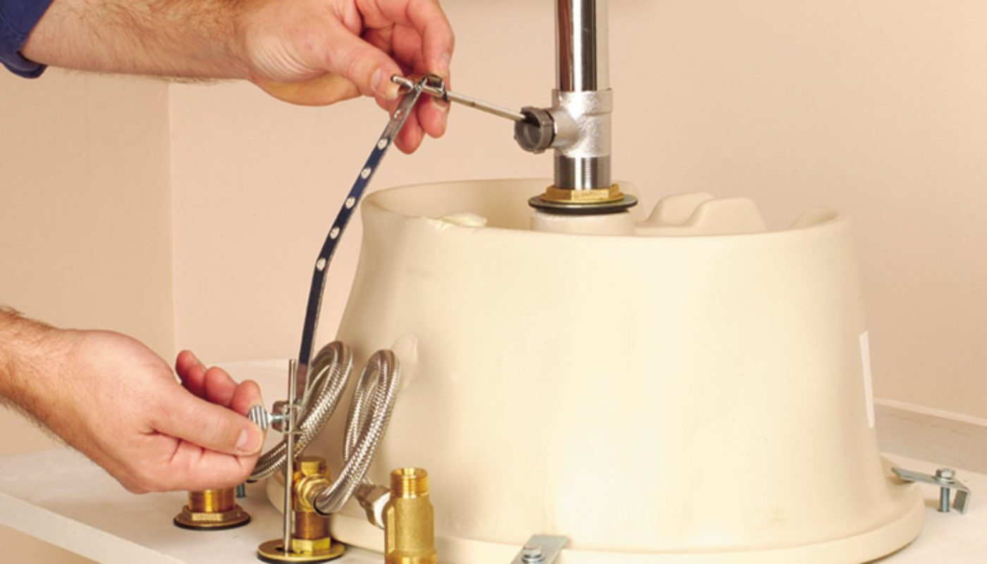 How to Replace a Bathroom Sink 4