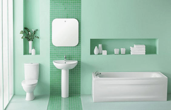how to choose bathroom color 1