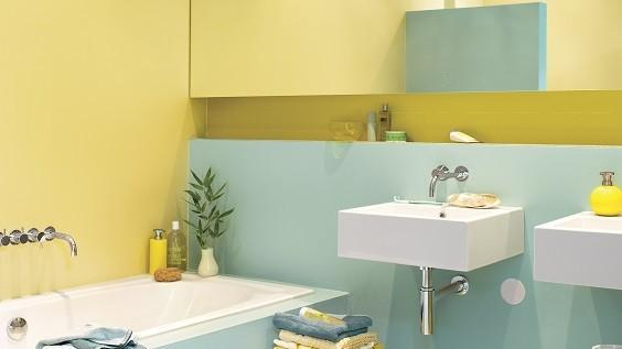 how to choose bathroom color
