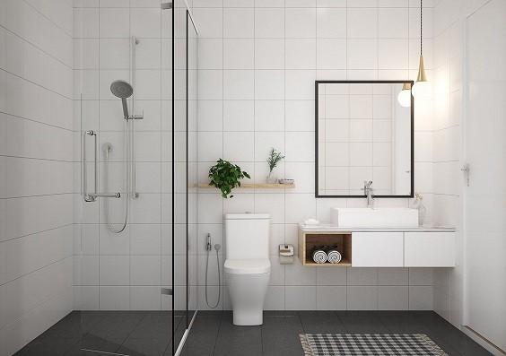 how to choose bathroom tiles