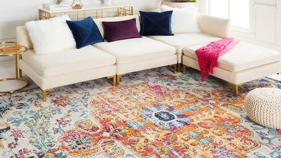 how to choose living room rug 1