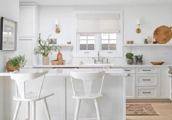 how to decorate a small kitchen 1